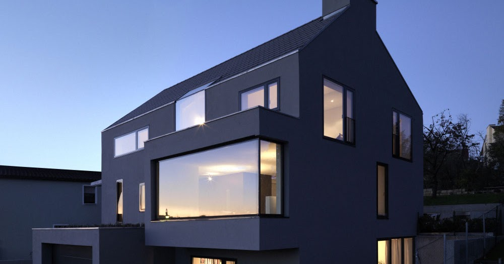 Haus f by ippolito fleitz group housevariety for Haus musterplan