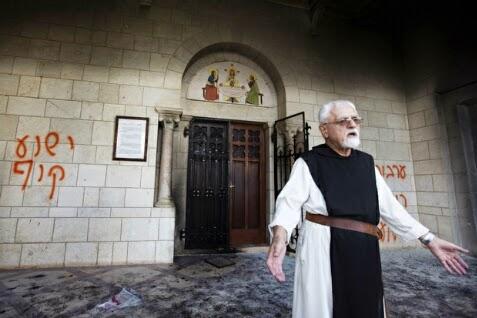 Kembali Berulah, Ekstrimis Yahudi Bakar Gereja di Kota Al-Quds