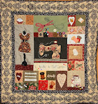 "Quilt ""I LOVE SEWING"""