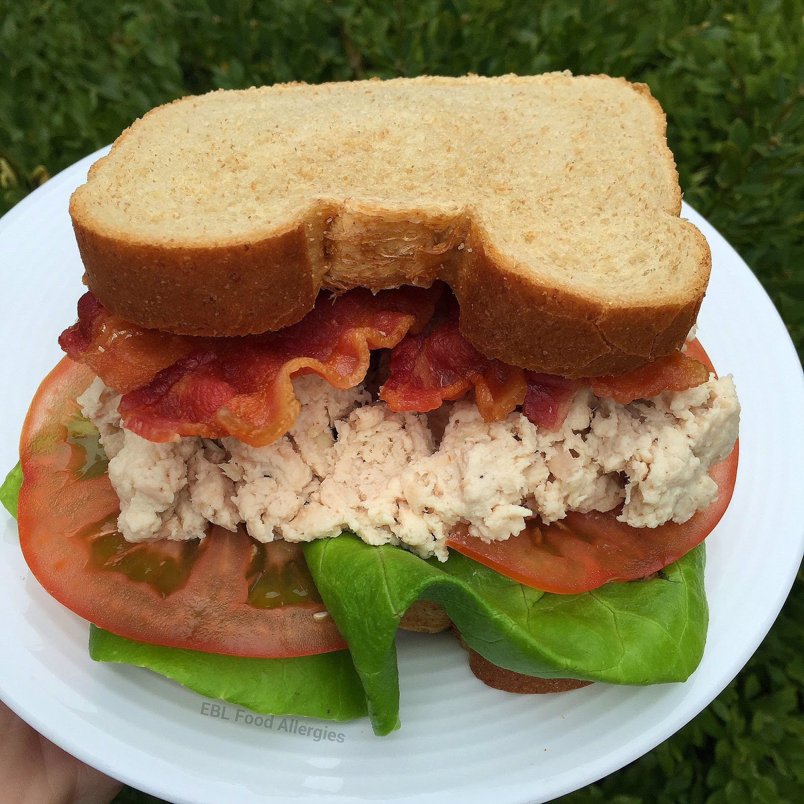 #dairyfree #eggfree #soyfree chicken salad recipe