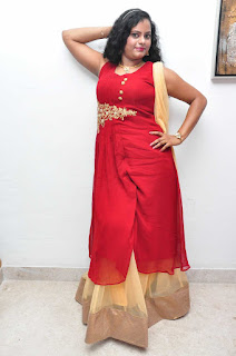Asha Chowdary Pictures in Red Dress at Red Alert Audio Release Function 25285)
