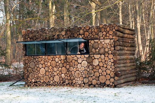 Tuindesign tuinhuizen van piet hein eek for Verplaatsbaar huis
