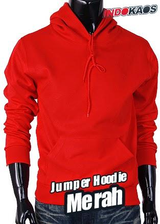 Jumper Hoodie Merah