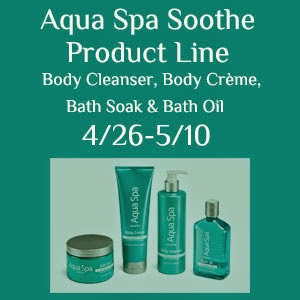 Aqua Spa Soothe Products Giveaway