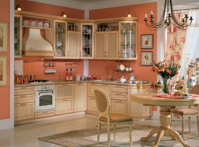 Cozy kitchen 2015, How to make the kitchen more cozy with their own hands