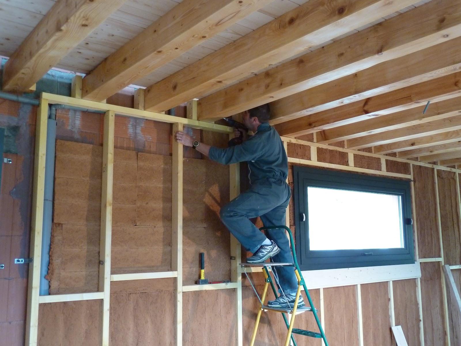 La maison de meltemetpetau suite et fin de l 39 isolation du rez de chauss - Isolation phonique des murs ...