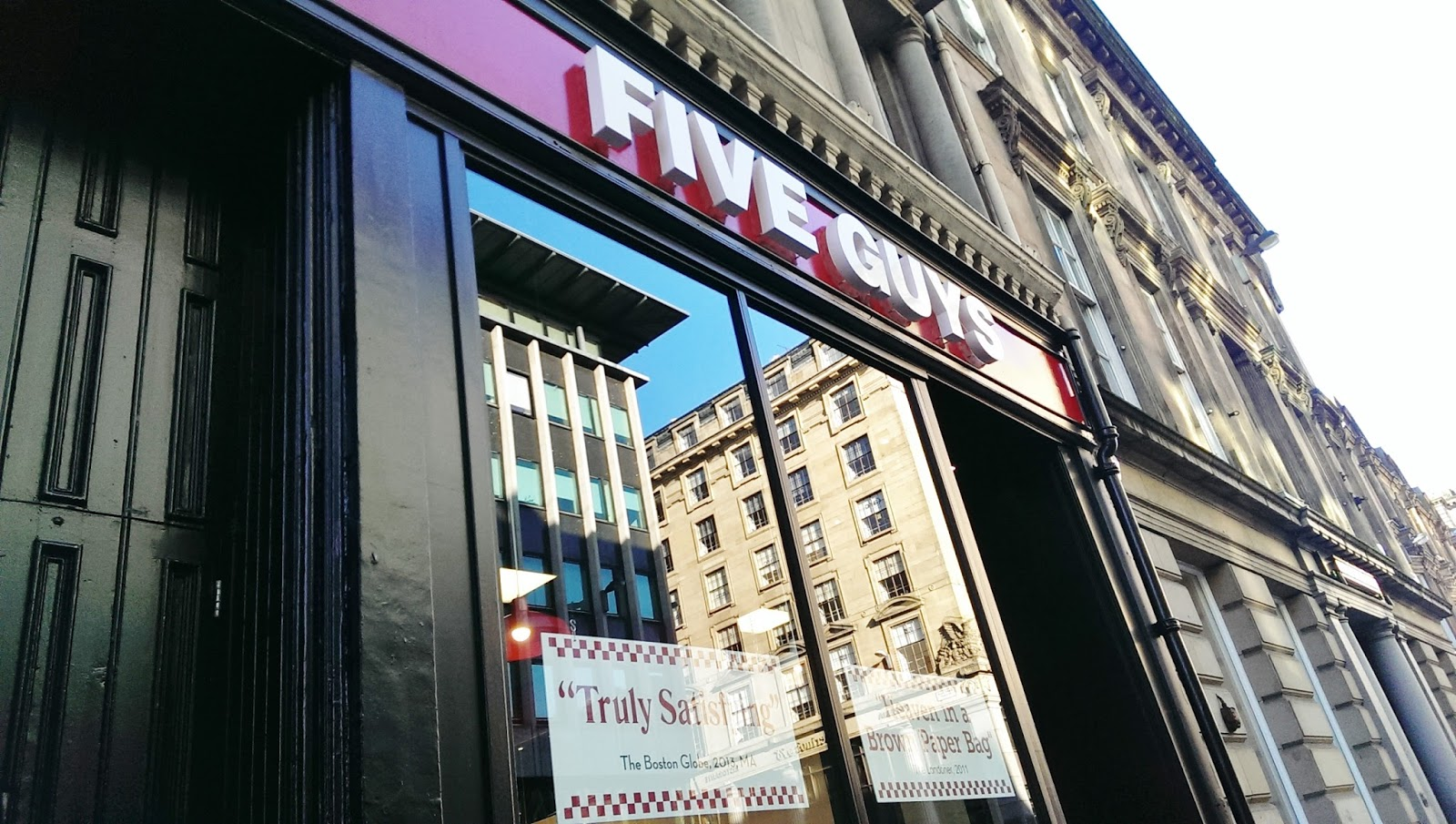 Five Guys Glasgow