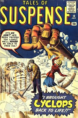 Tales of Suspense #10, Cyclops