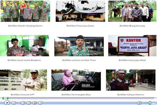 KOLEKSI VIDEO USAHA MANDIRI DESA SE INDONESIA