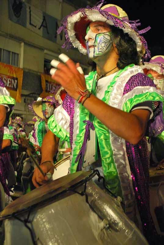 Desfile de Llamadas.La 14.. Montevideo. 2011.
