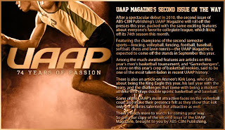 UAAP Magazine's 2nd issue