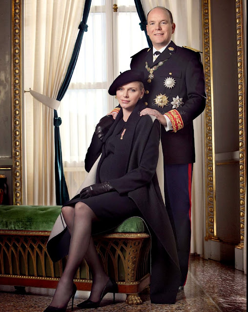 Princess Charlene Prince Albert of Monaco photos