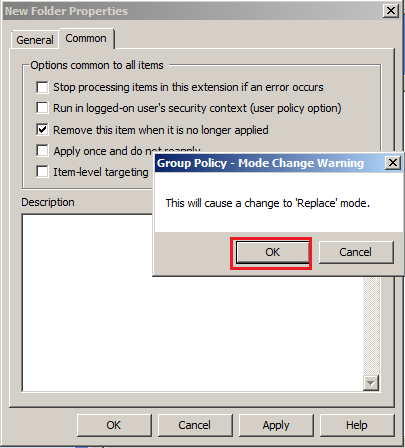 Create Folder on Desktop through Group Policy