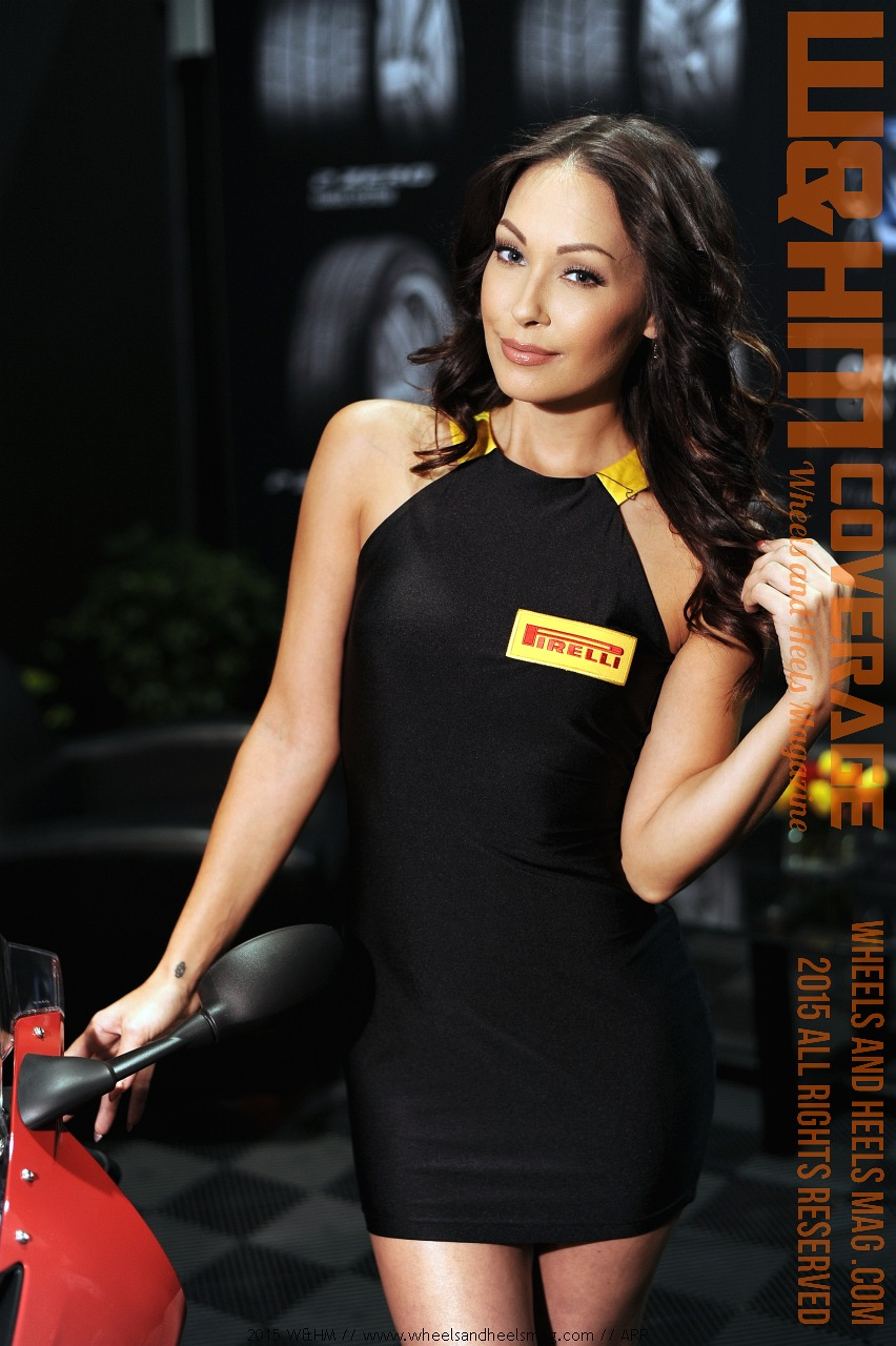 wamphm wheels and heels magazine amazing cover model