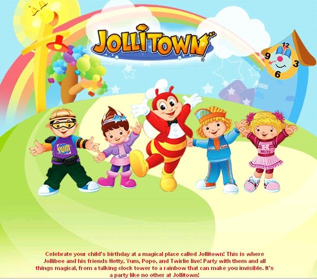 The pinoy informer jollibee party package themes stopboris Gallery