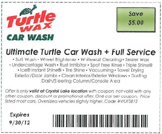 Ultimate Turtle Car Wash Coupon