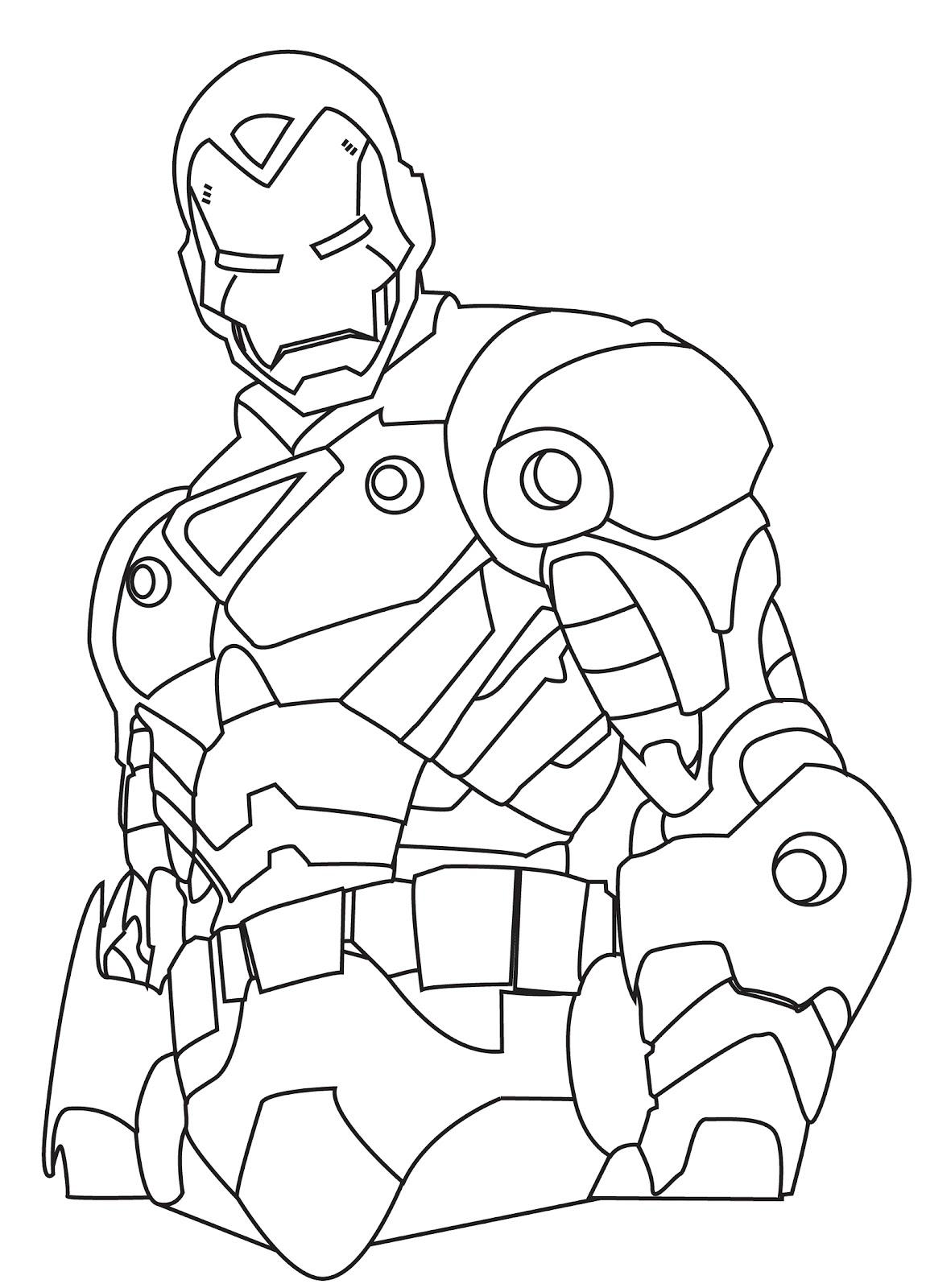Desenhos do Homem de Ferro para colorir Desenho do  - imagens para colorir do homem de ferro