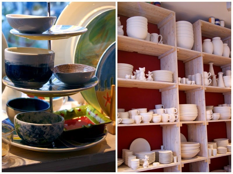 Keramik Produkte selbst bemalen