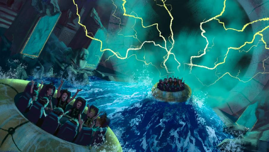 Thrilling water ride concept for Jordan's Red Sea Astrarium