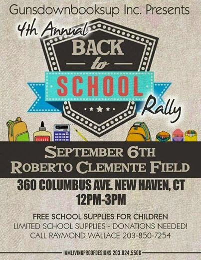 The FICKLIN MEDIA GROUP,LLC: Gunsdownbookup Presents 4th Annual Back to School Rally