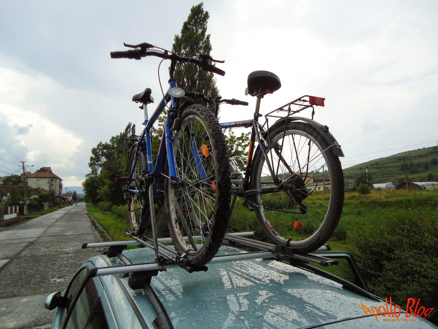 Biciclete pe bare transversale