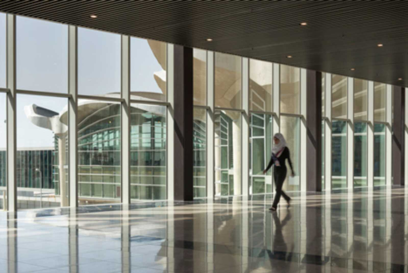 Queen alia international airport by foster partners