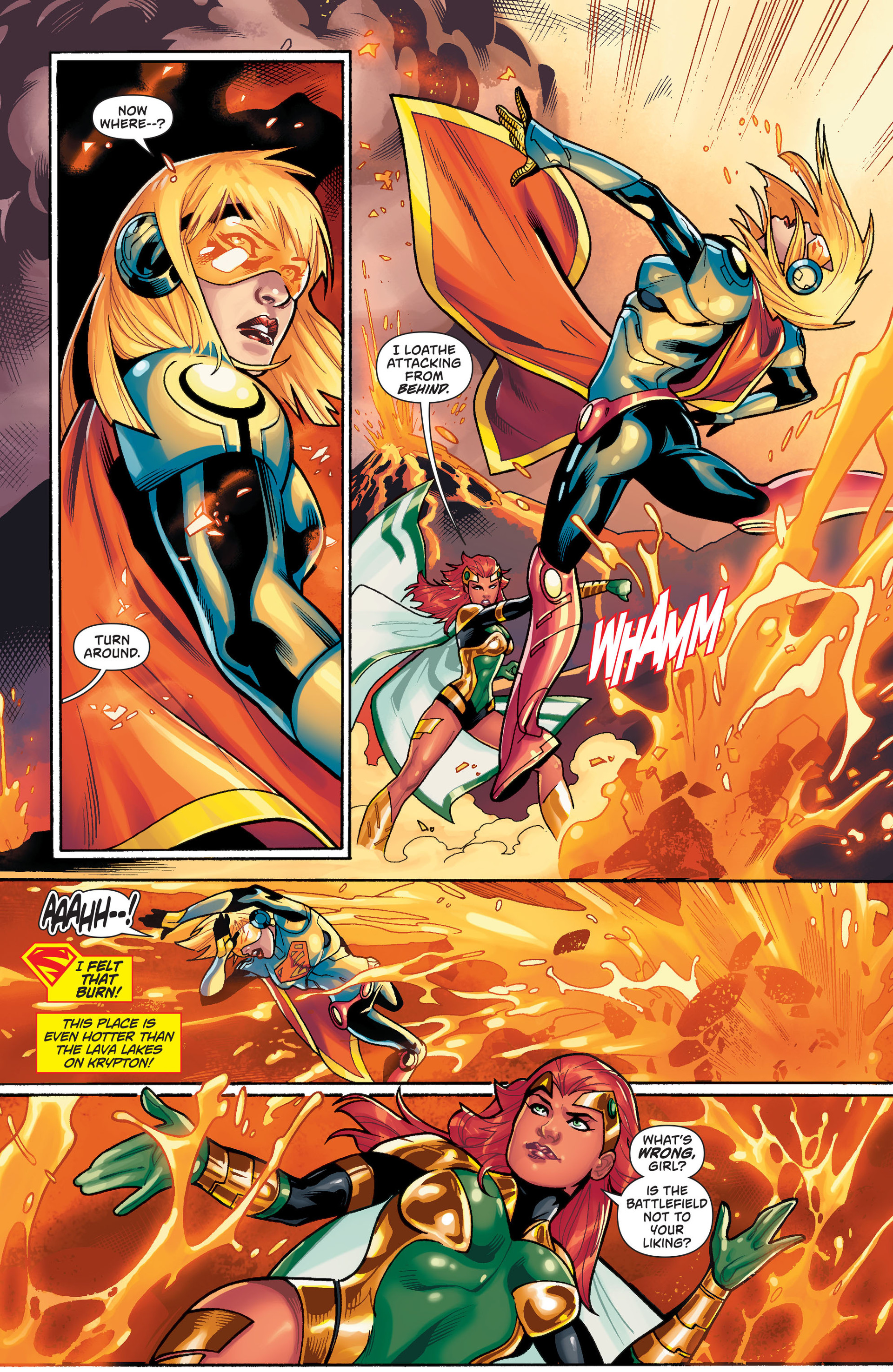 Supergirl (2011) Issue #36 #38 - English 13