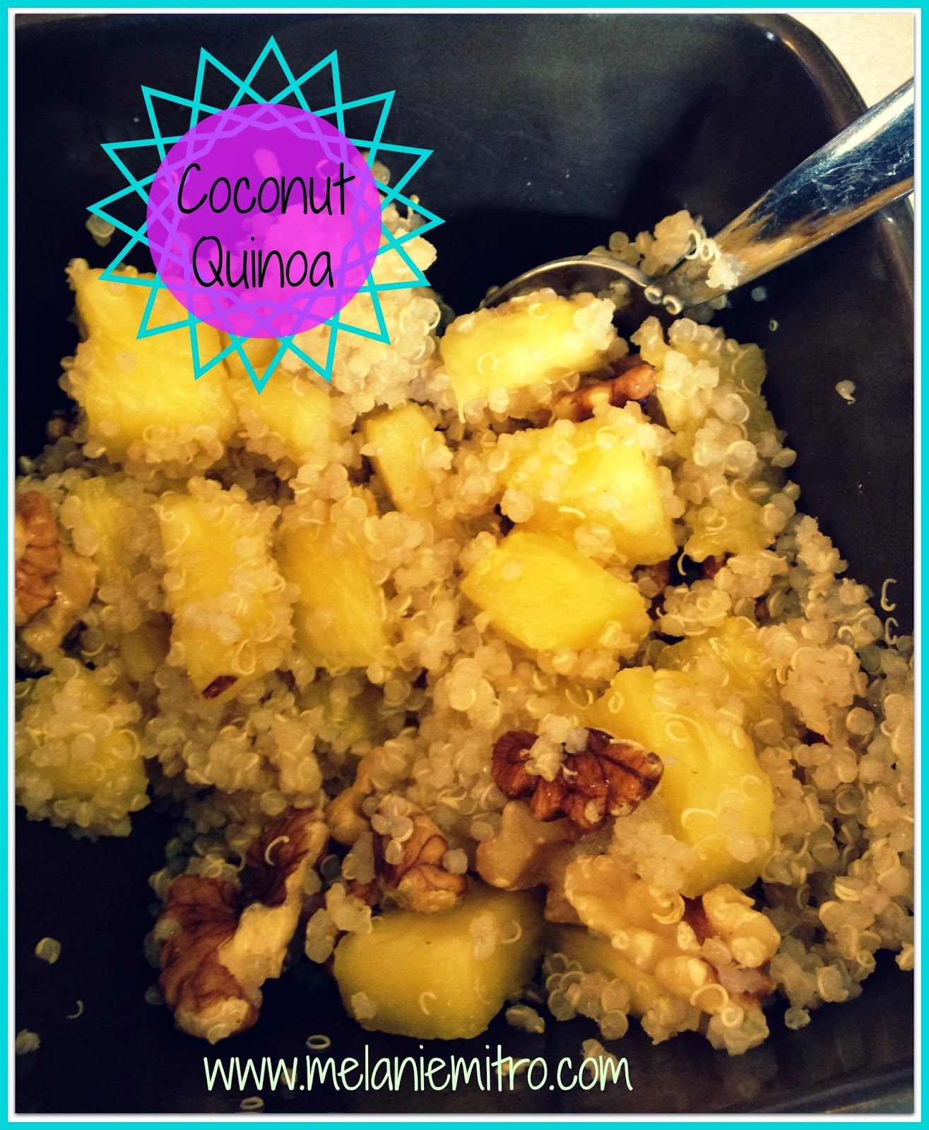 Clean Eating Coconut Quinoa Recipe