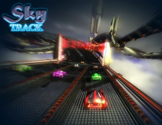 Track Race Games Download Sky Track Best Car Racing Game