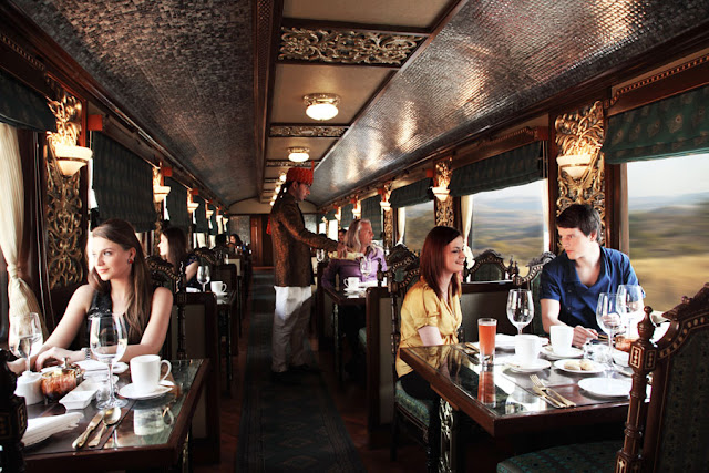 Mayur Mahal Dining Car