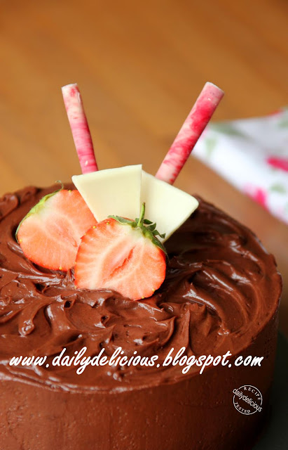 Cake Mix Fudge In A Tunnel Cake