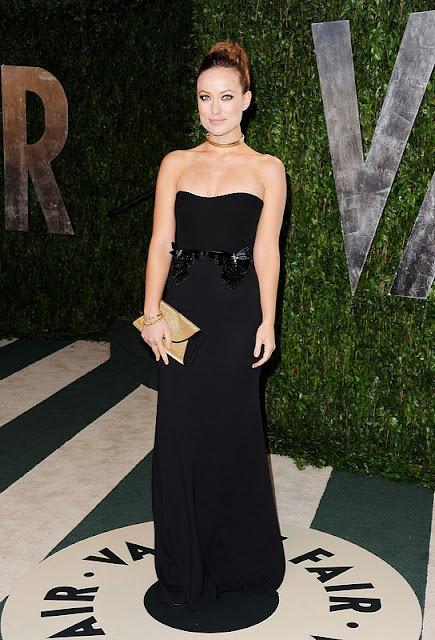 Look Olivia Wilde Oscar 2012