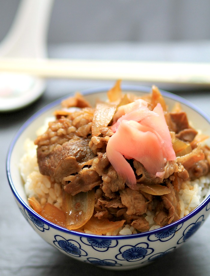 Gyudon (Beef Rice Bowl) Recipe — Dishmaps