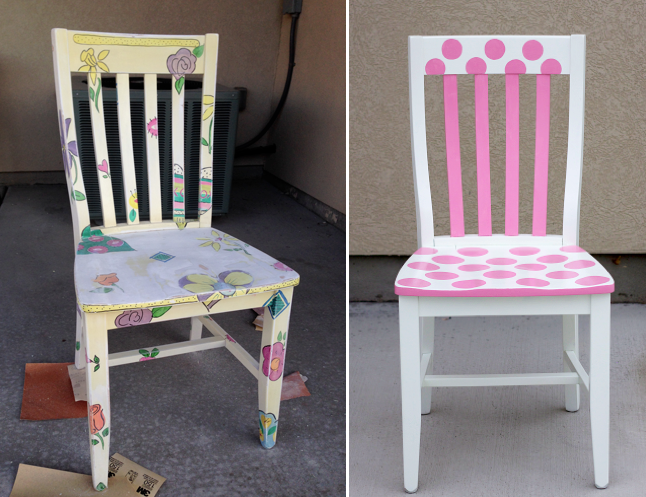 Isnu0027t That A Beautiful Thing? I Just Loved How It Turned Out. The Second  Piece Was A Chair For Her Daughteru0027s Room. Here Are The Before And After  Pictures.