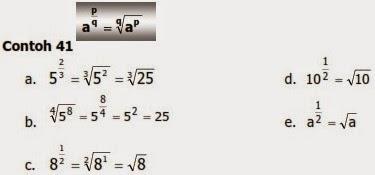 Materi Bilangan Berpangkat Belajar Matematika
