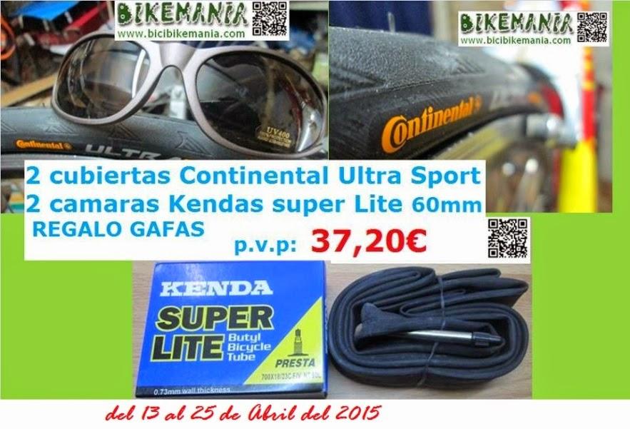 Promocion Continental Kenda