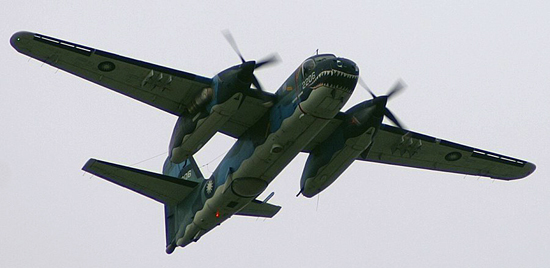 S2T Super Tracker of the Republic of China (ROC) Naval Aviation group.