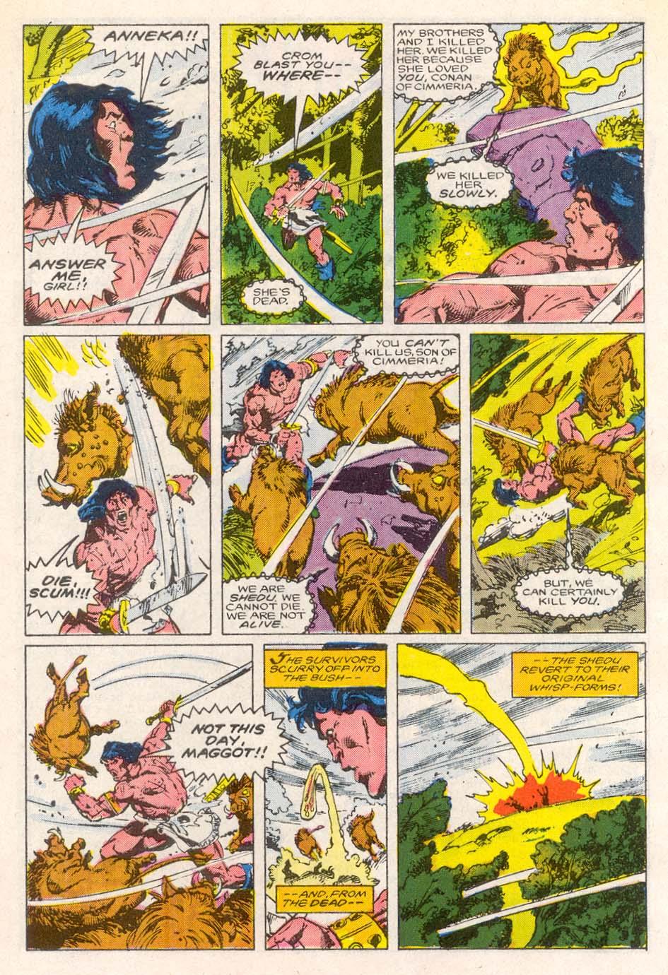 Conan the Barbarian (1970) Issue #193 #205 - English 20