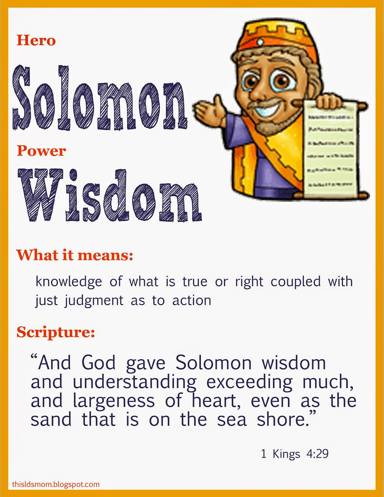 the wisdom of king solomon Profiles of faith: solomon - lesson from a wise king and they feared the king, for they saw that the wisdom of god was in him to administer justice.