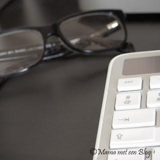 Keyboard met een leesbril