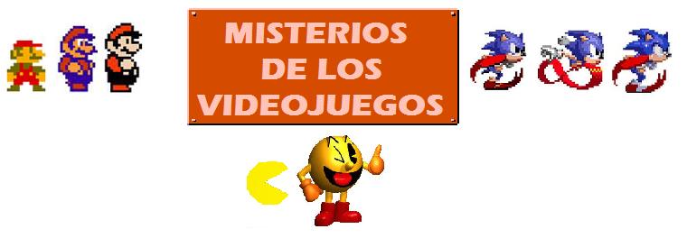 Misterios de los videojuegos