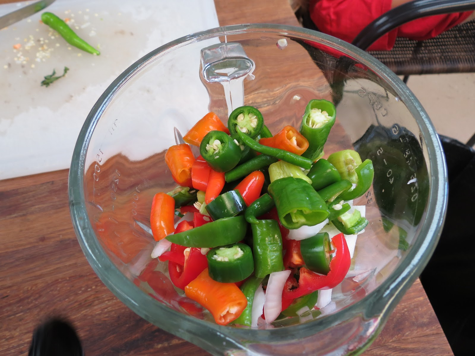 ... relish, then use sweeter peppers, we like hot relish so I used a lot