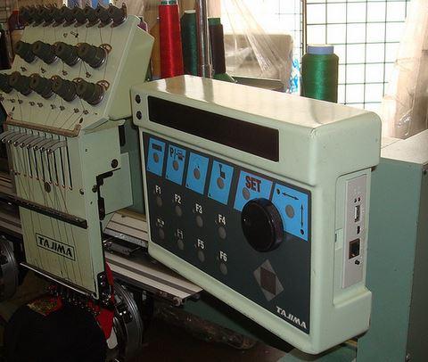 tajima 2 embroidery machine for sale