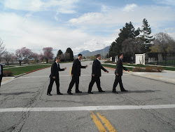 Alex and roommates at the MTC
