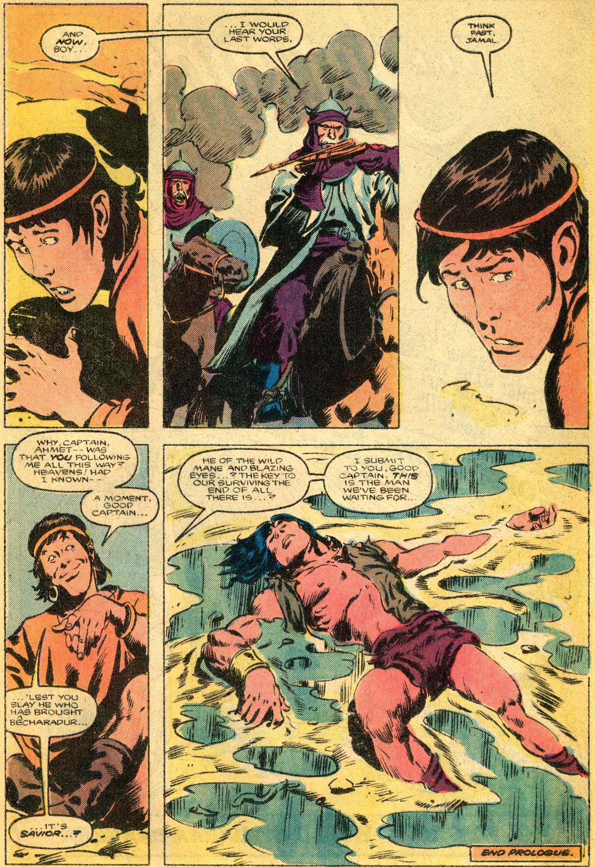 Conan the Barbarian (1970) Issue #179 #191 - English 9