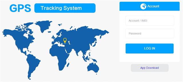 GPS Tracking System via Website