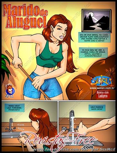 Quadrinhos Eróticos - Marido de Aluguel