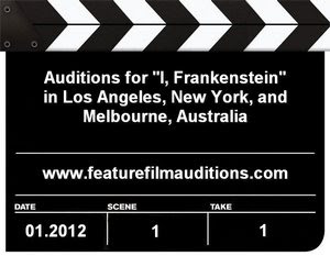 I Frankenstein Auditions Casting Calls