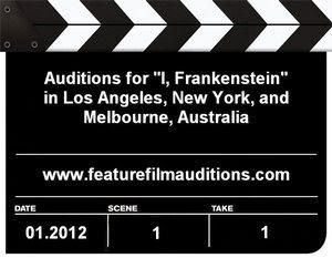 I Frankenstein Auditions Casting Calls