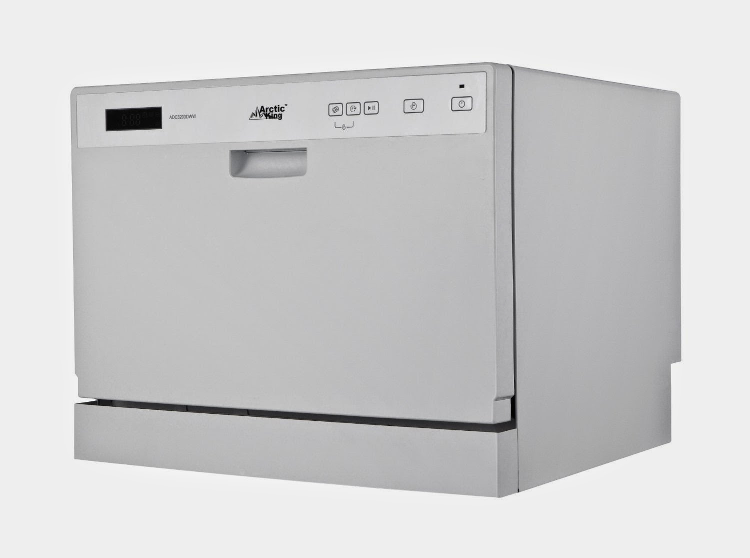 white midea arctic king countertop dishwashers - Portable Dishwasher